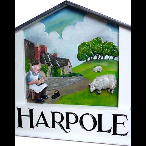 Harpole village sign