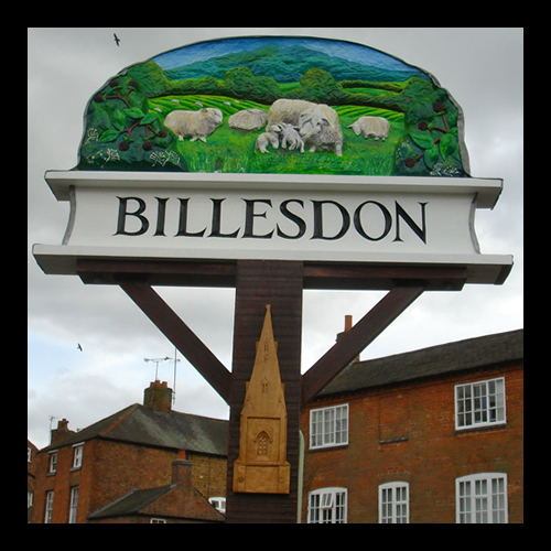 Billesdon Town Sign